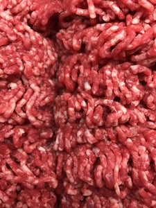 20lbs Grass Fed Ground Beef - (20) 1lb vacuum sealed pkgs