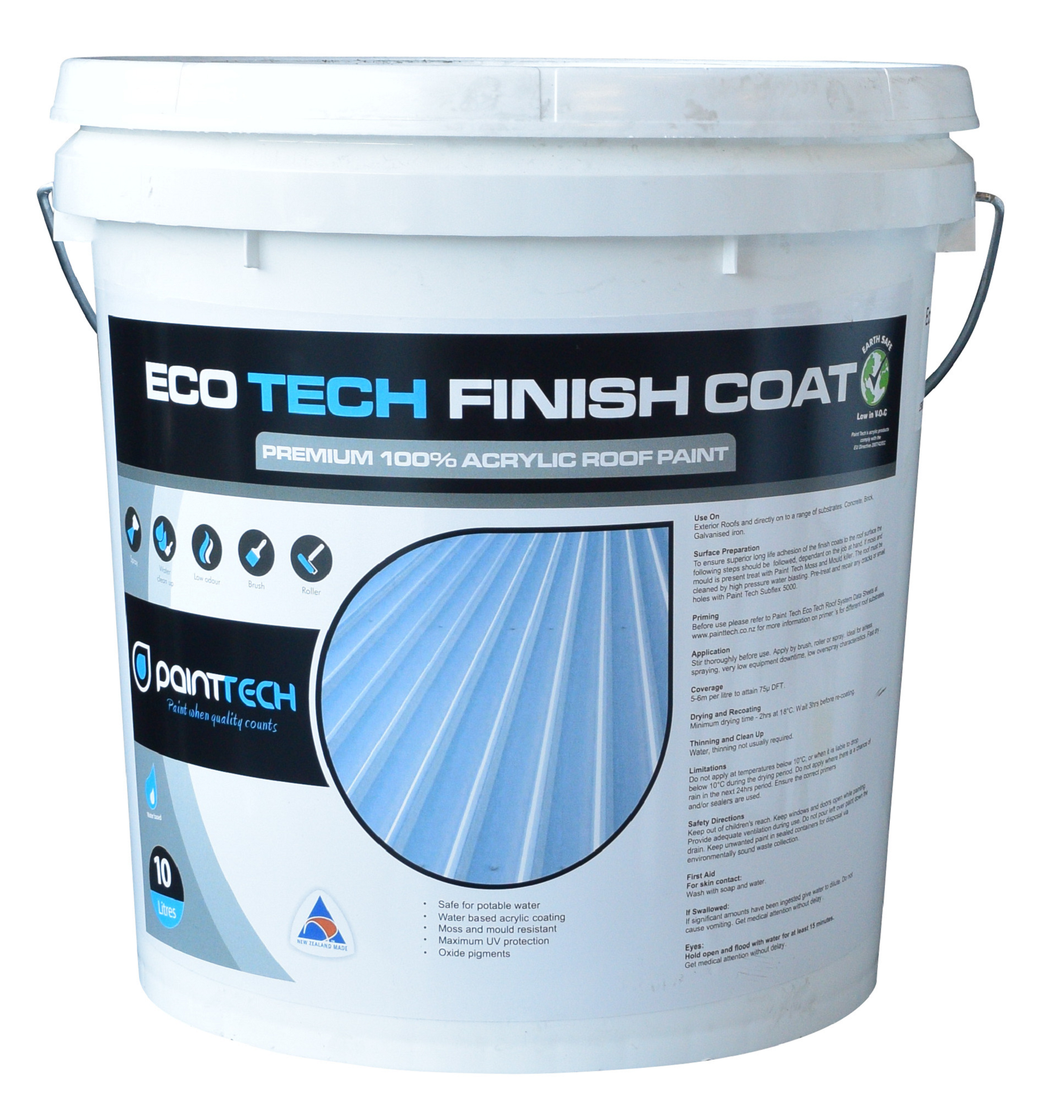 Eco Tech Roof Paint - Matt