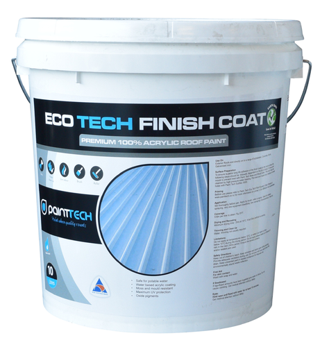 Eco Tech Roof Paint - Semi Gloss