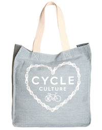 Cycle Culture Tote Bag