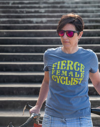 Fierce Female Cyclist T-Shirt