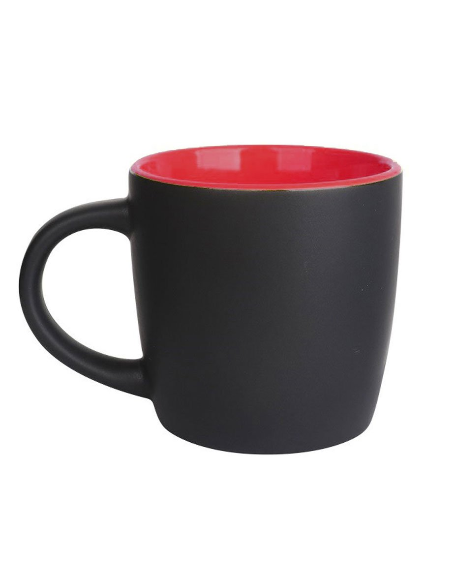 Tour de Caffeine Coffee Mug - Red