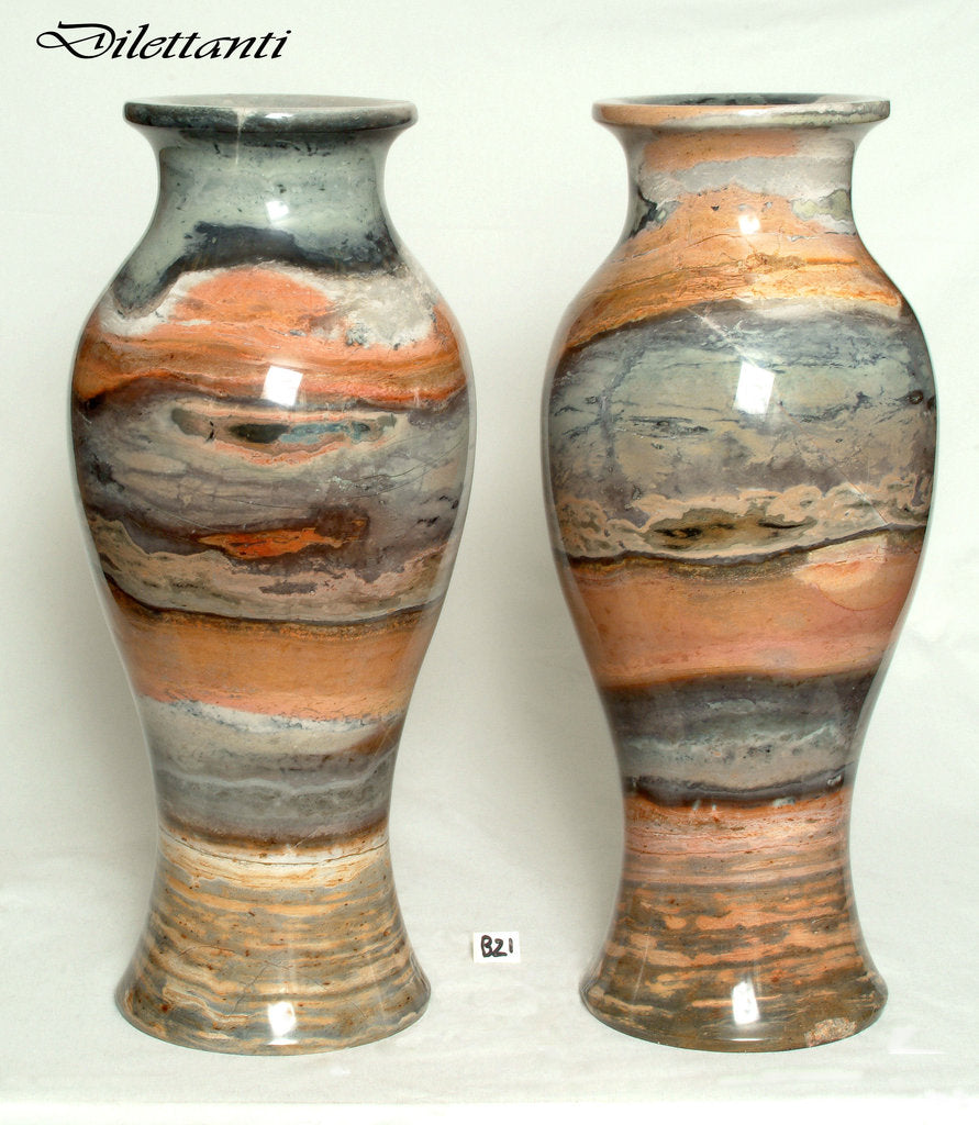 Pair of large Marble Vases