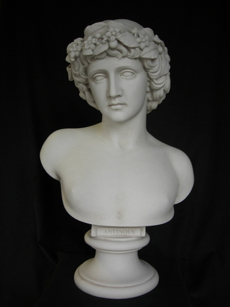 Antinous with Bachic Wreath