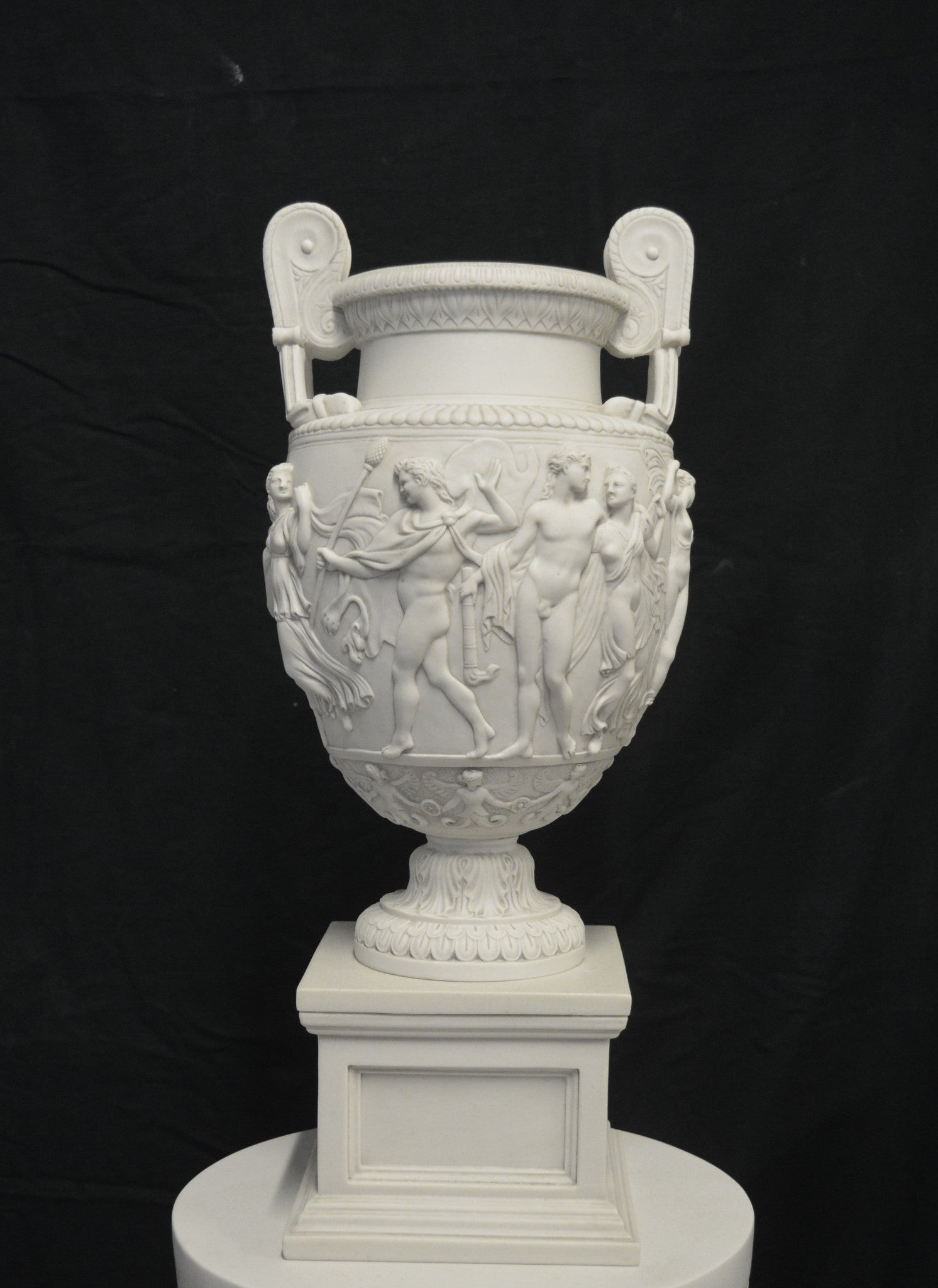 Charles Townley Vase On Large Pedestal