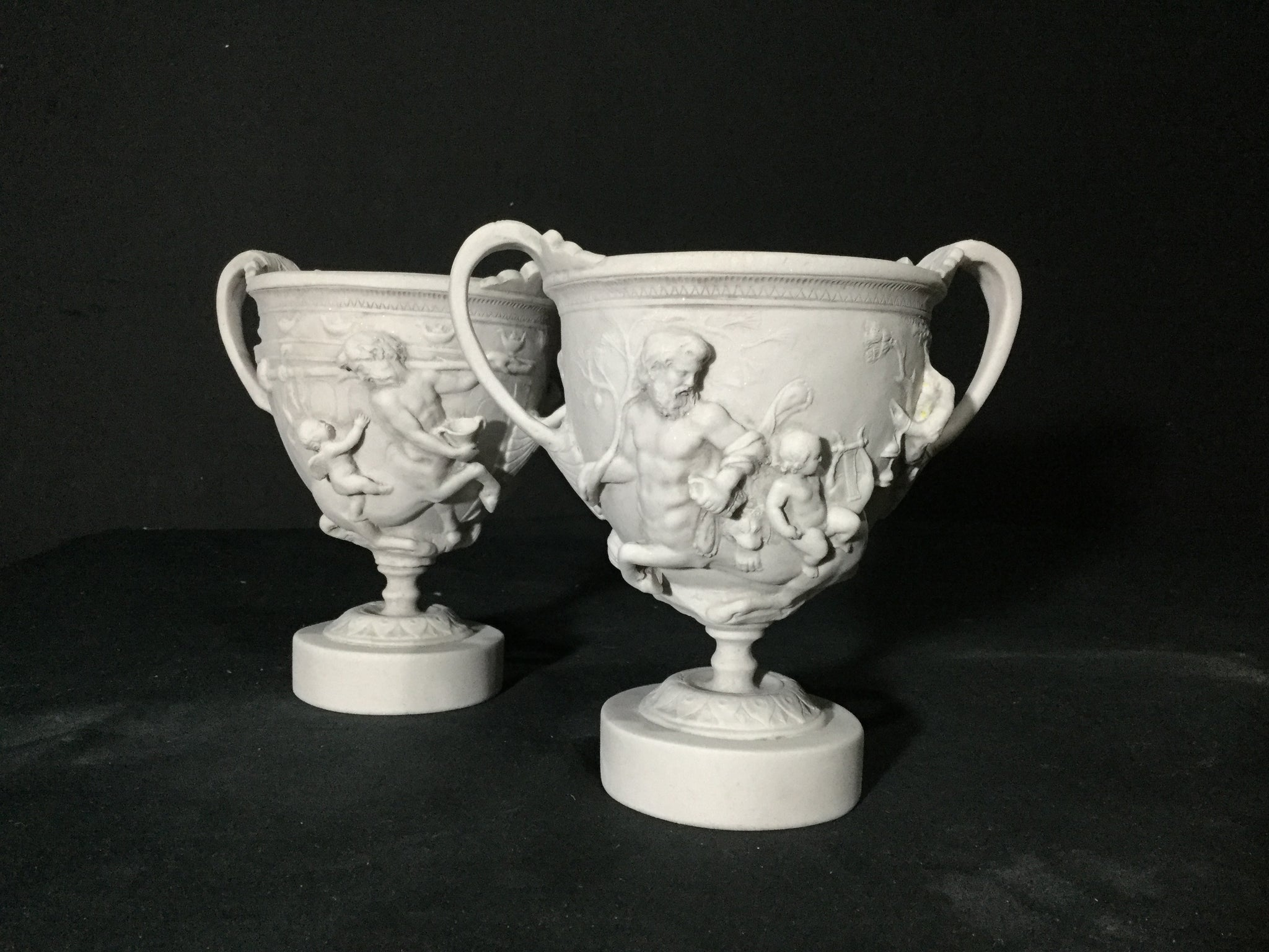 Pair Of Miniature Vases