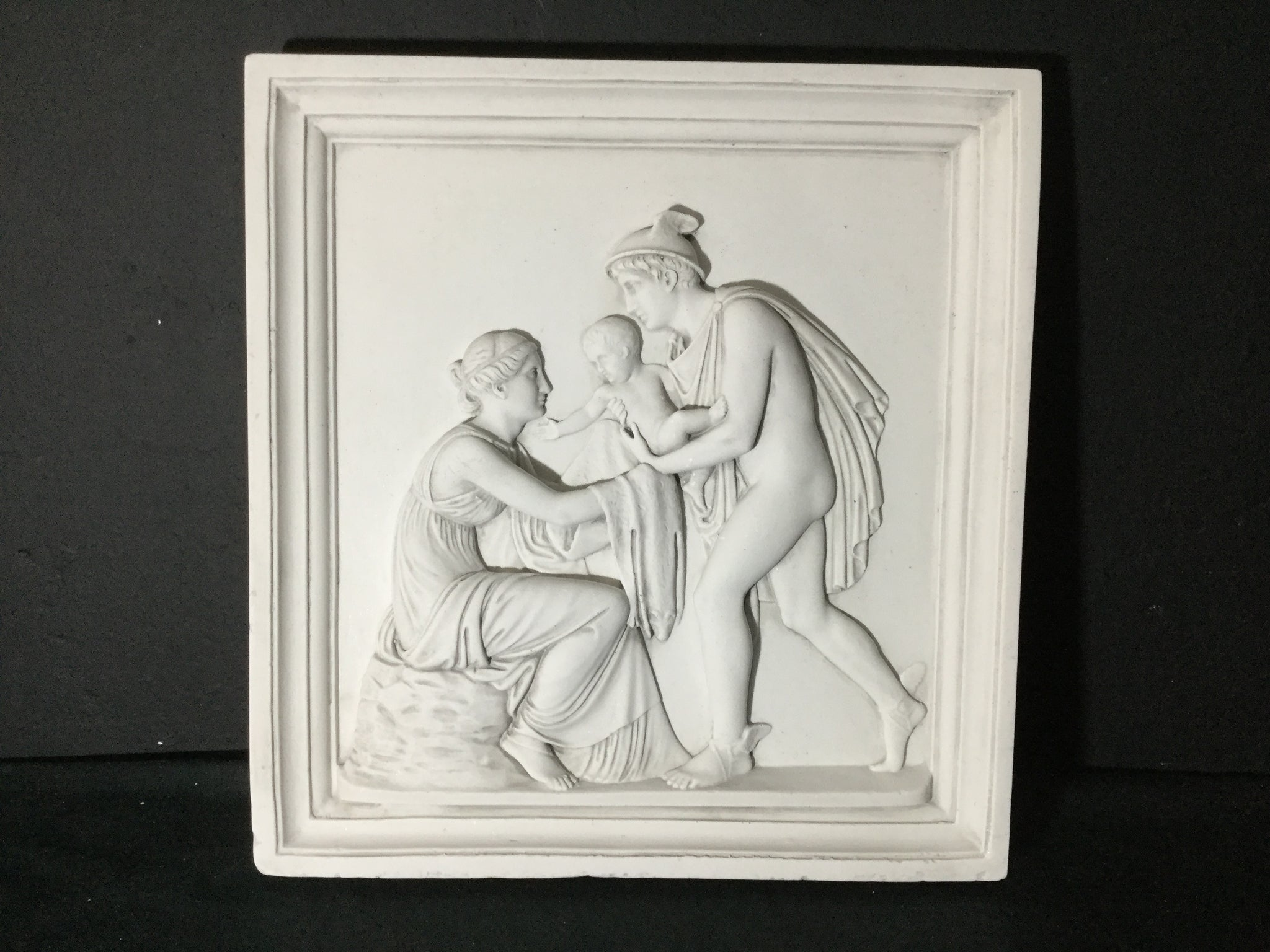 Hermes And Infant Bacchus Relief