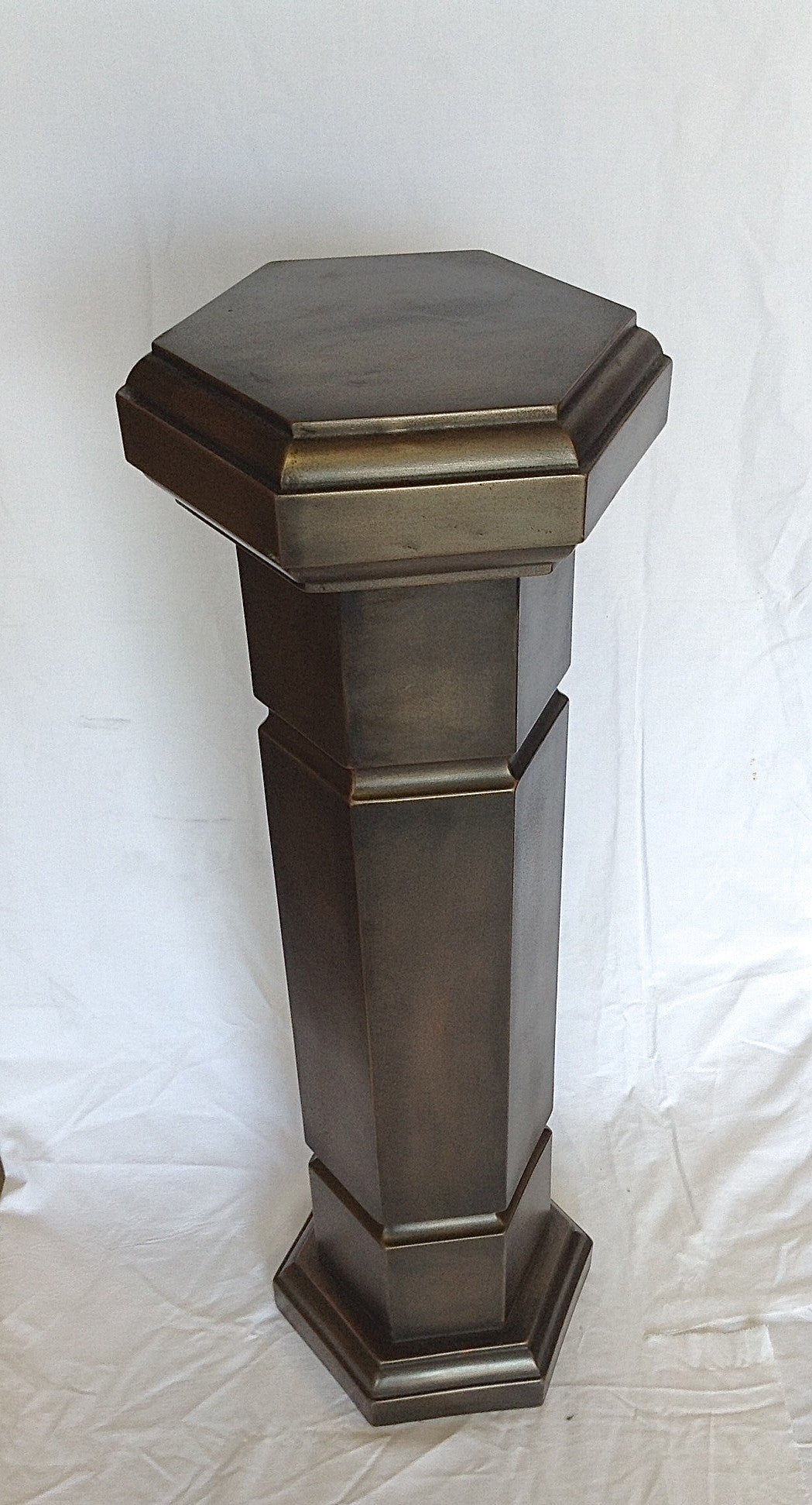 Bronze Straight Hexagon Column