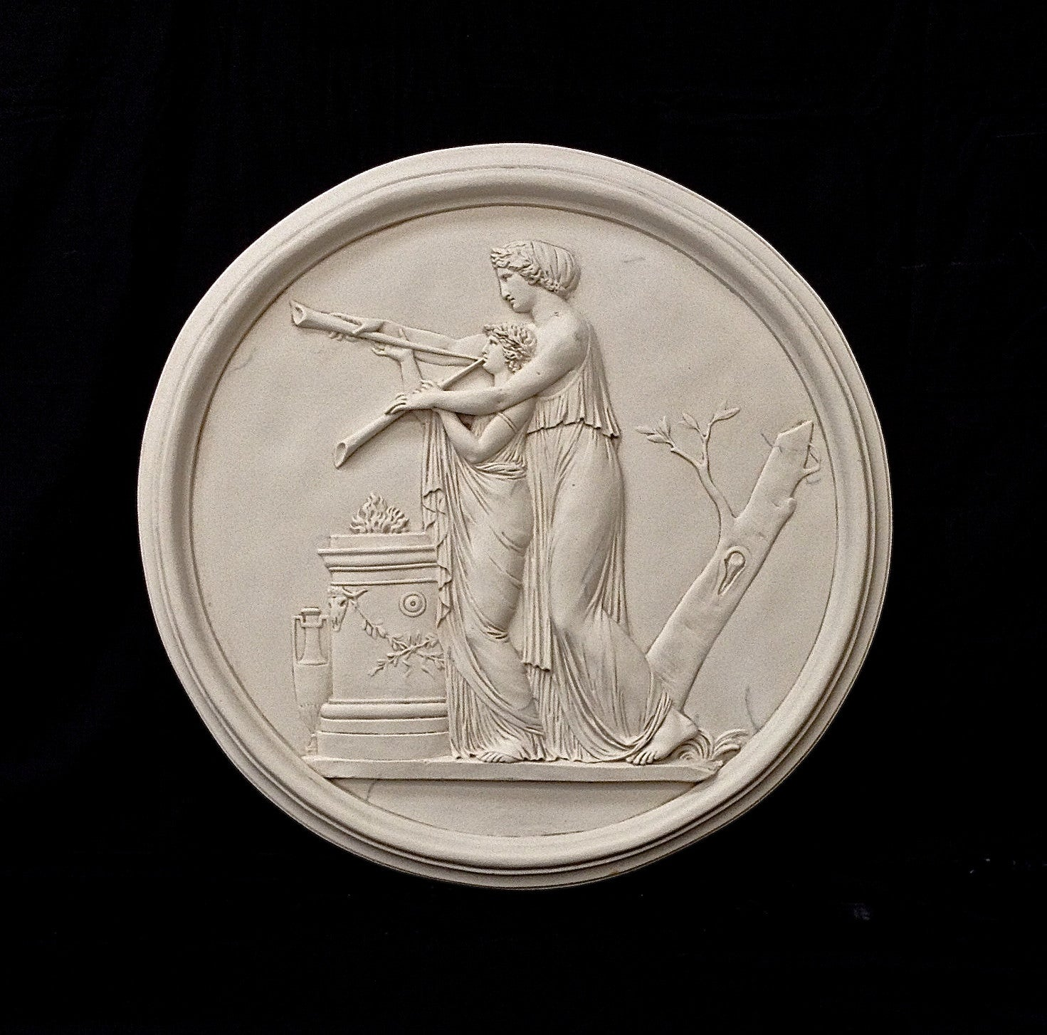 The Music Lesson Roundel