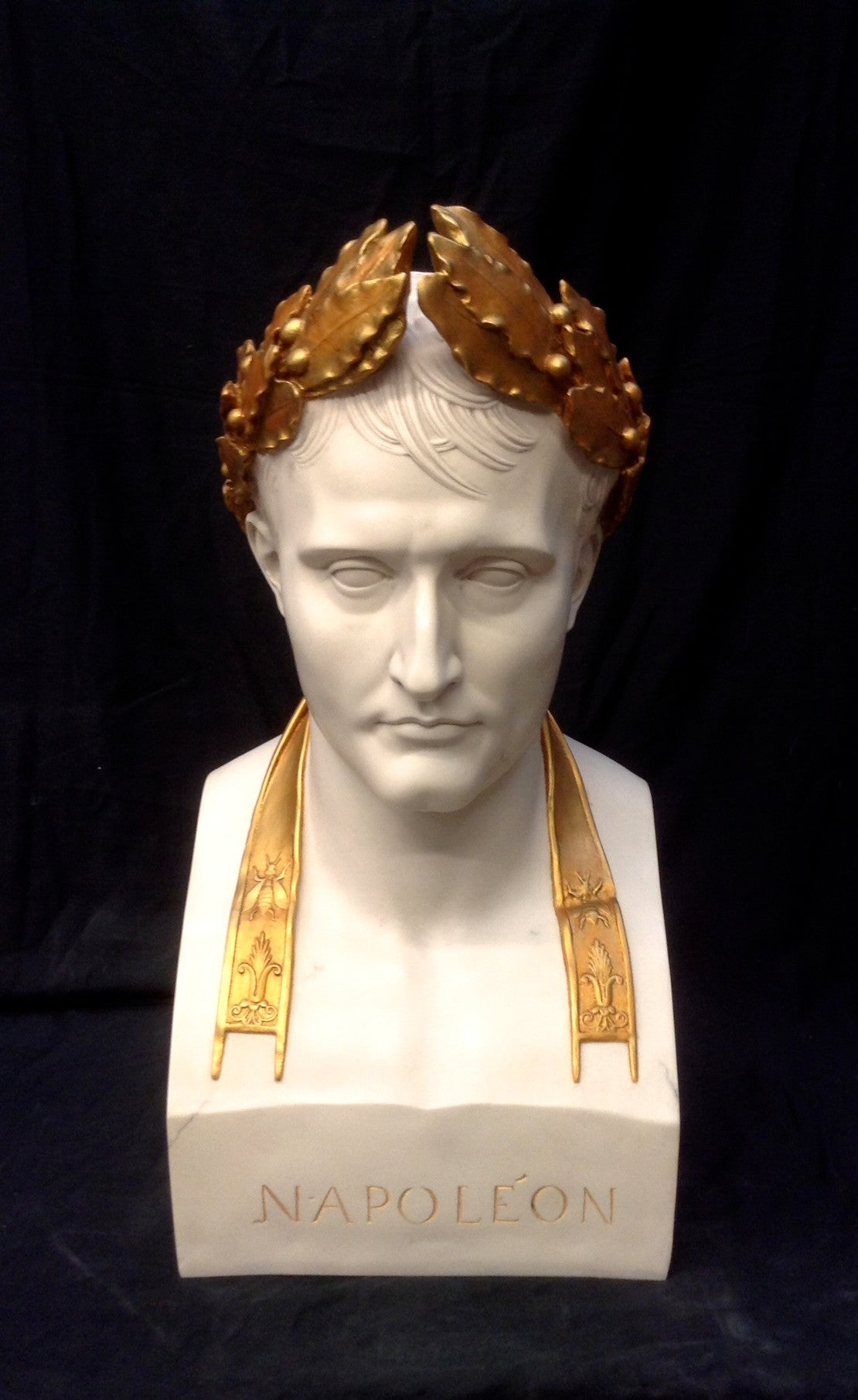 Marble Sculpture By Sculptured Arts Studio Napoleon As
