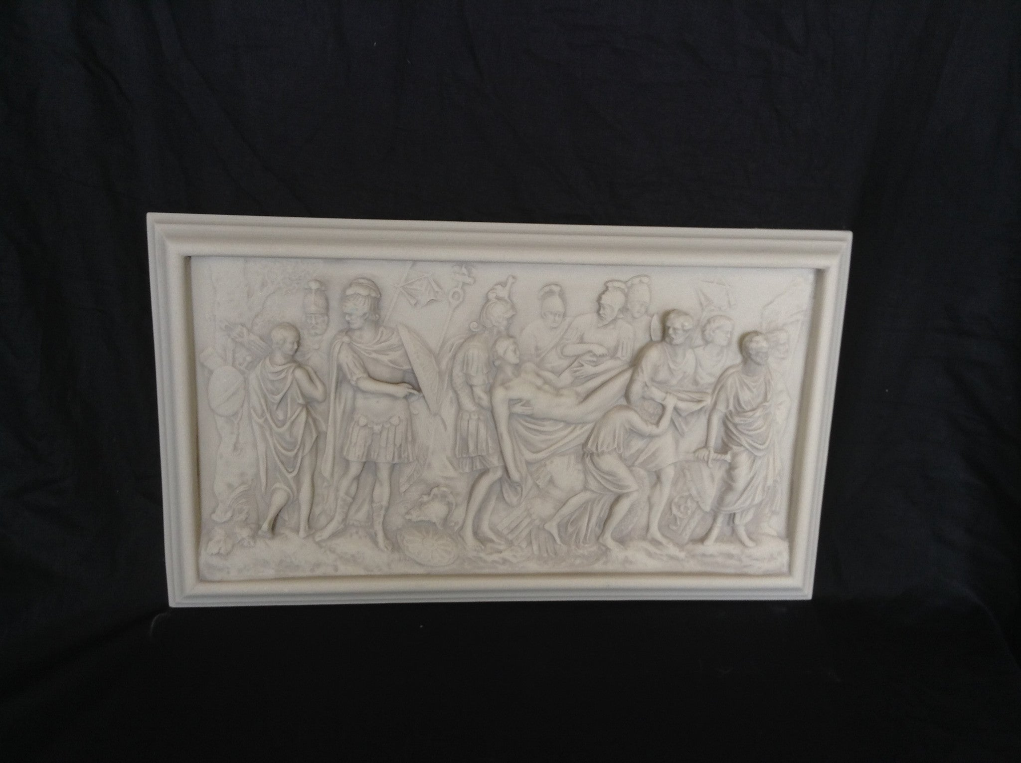The Carrying of Hector Plaque