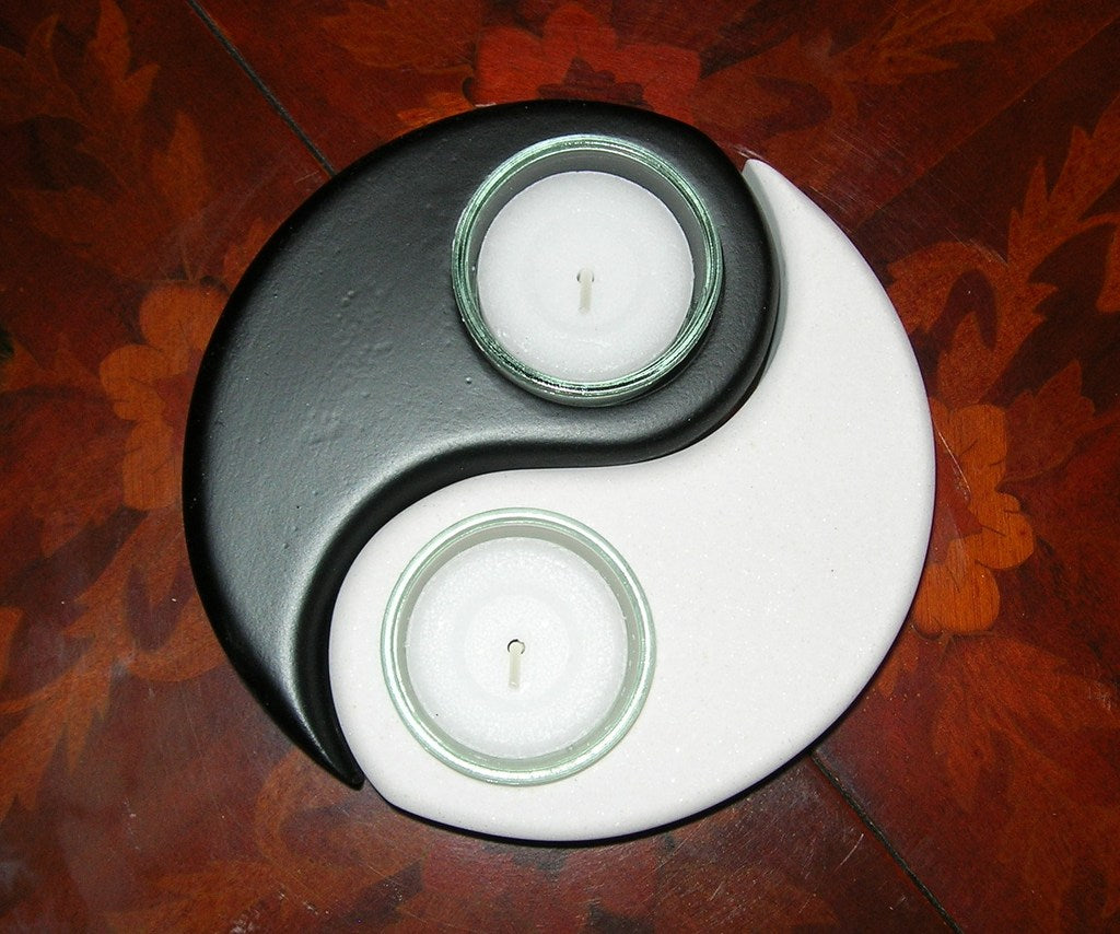 Ying Yang table light