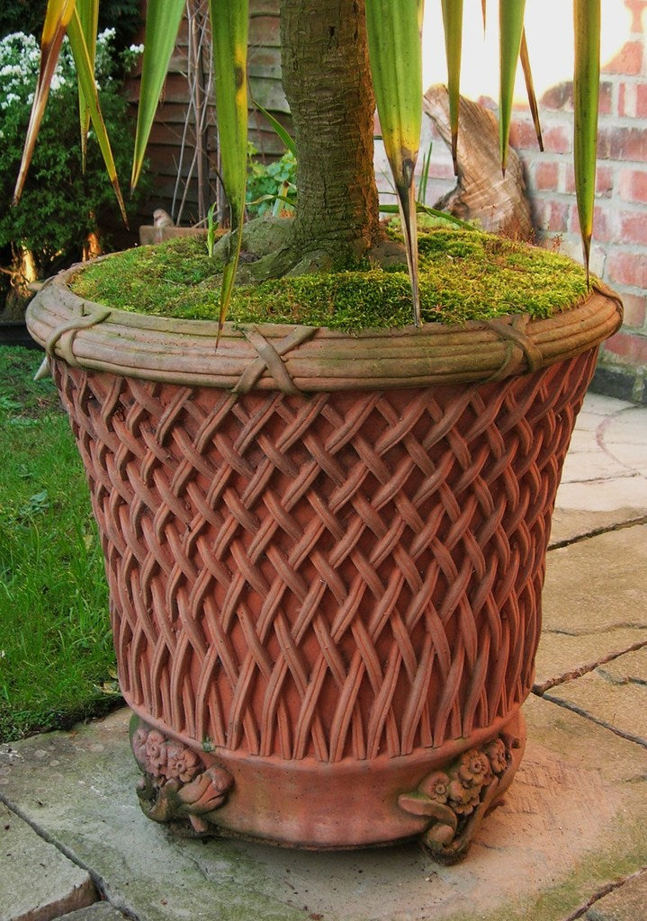 Round Basket Planter