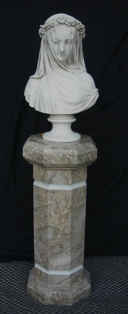 Mountain Camelia marble column