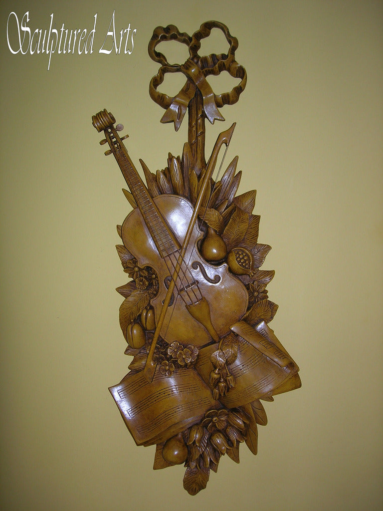 Violin Wall Sconce
