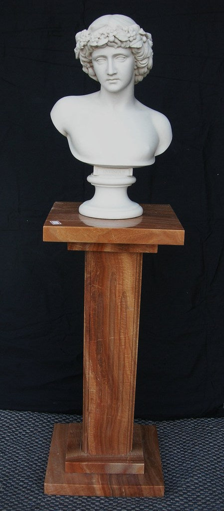 Square Wood marble column