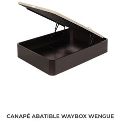 Canapé abatible Waybox Wengue