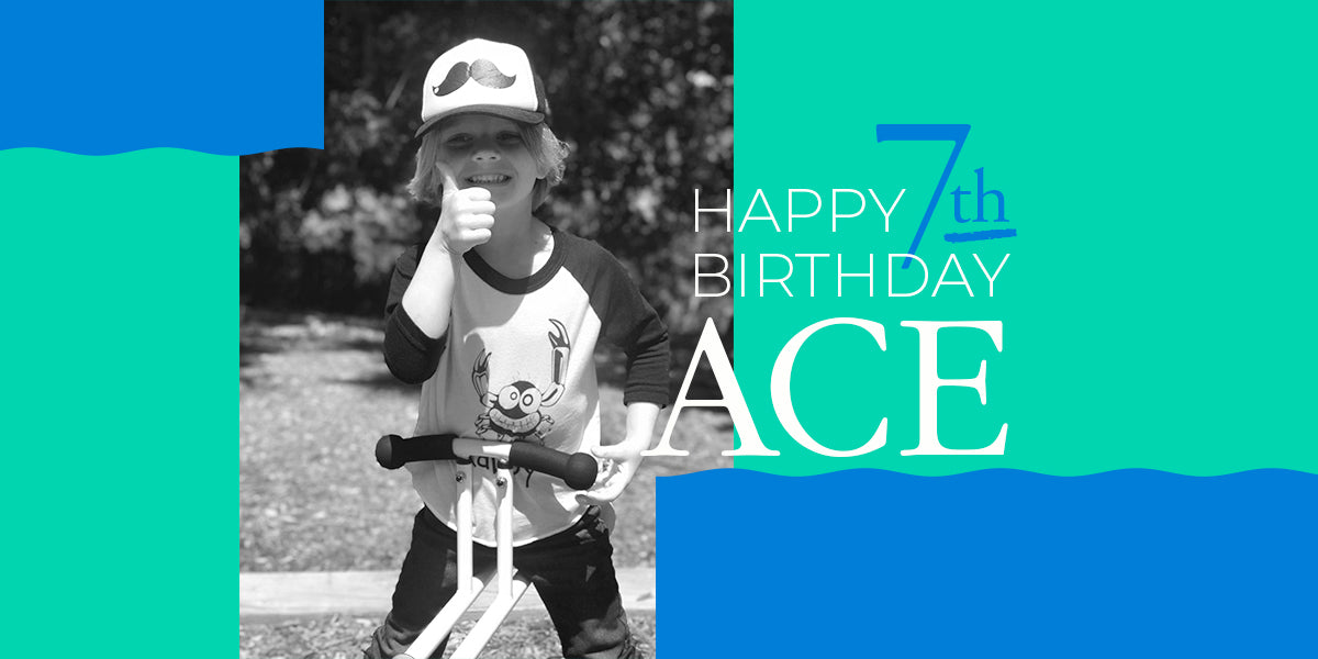 Happy 7th Birthday Ace!