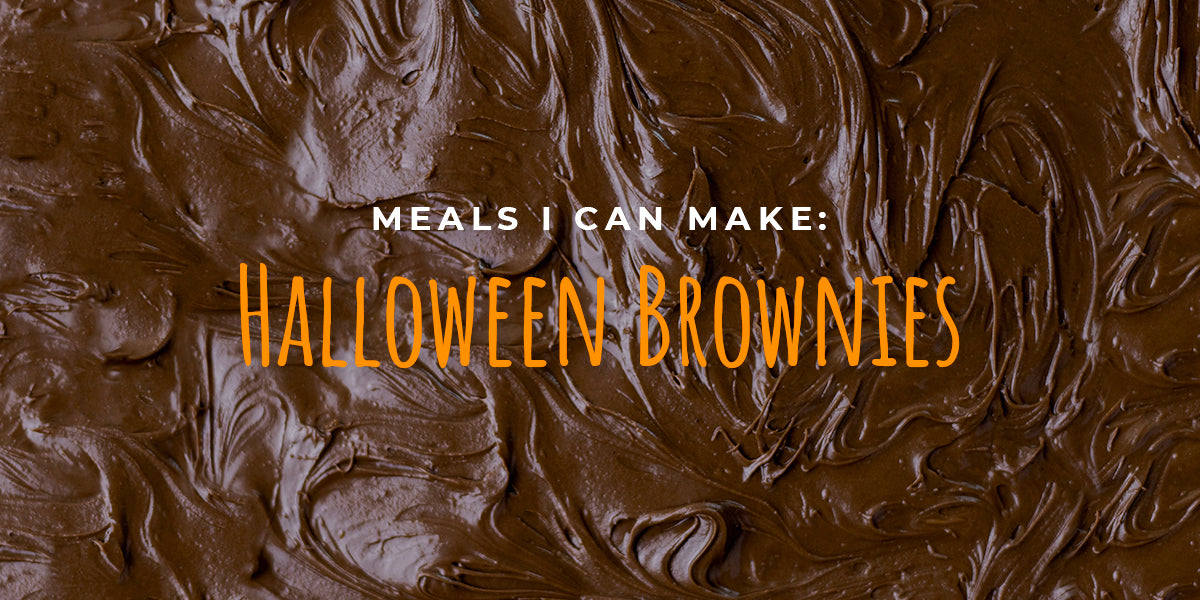 Meals I Can Make: Halloween Brownies