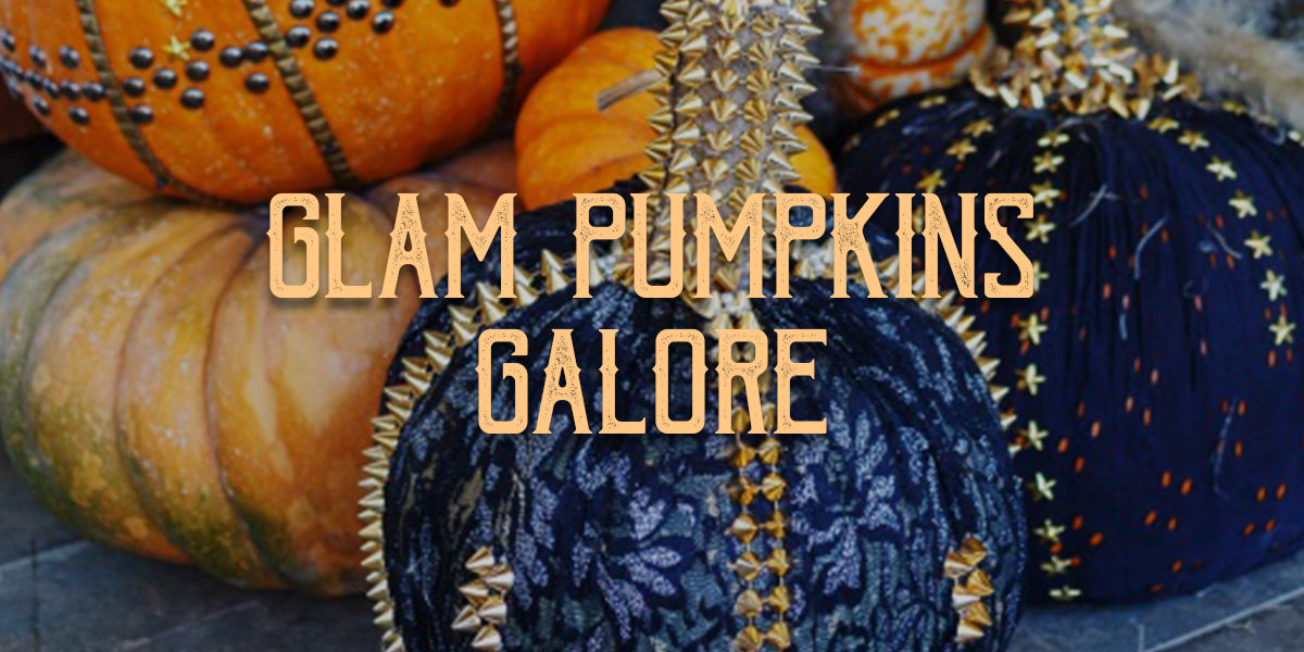 Glam Pumpkins Galore