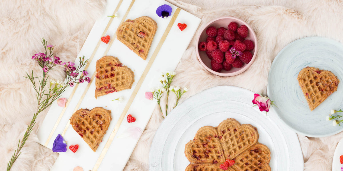 Meals I Can Make: Gluten-Free Strawberry Waffles