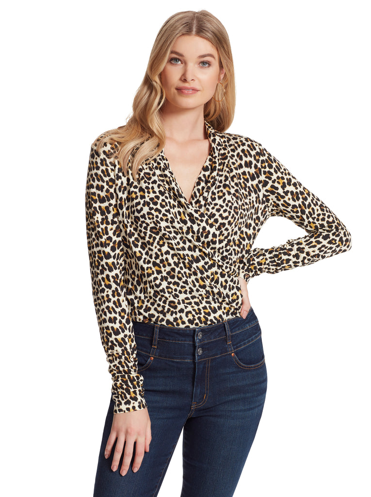Nara BodySuit in Leopard