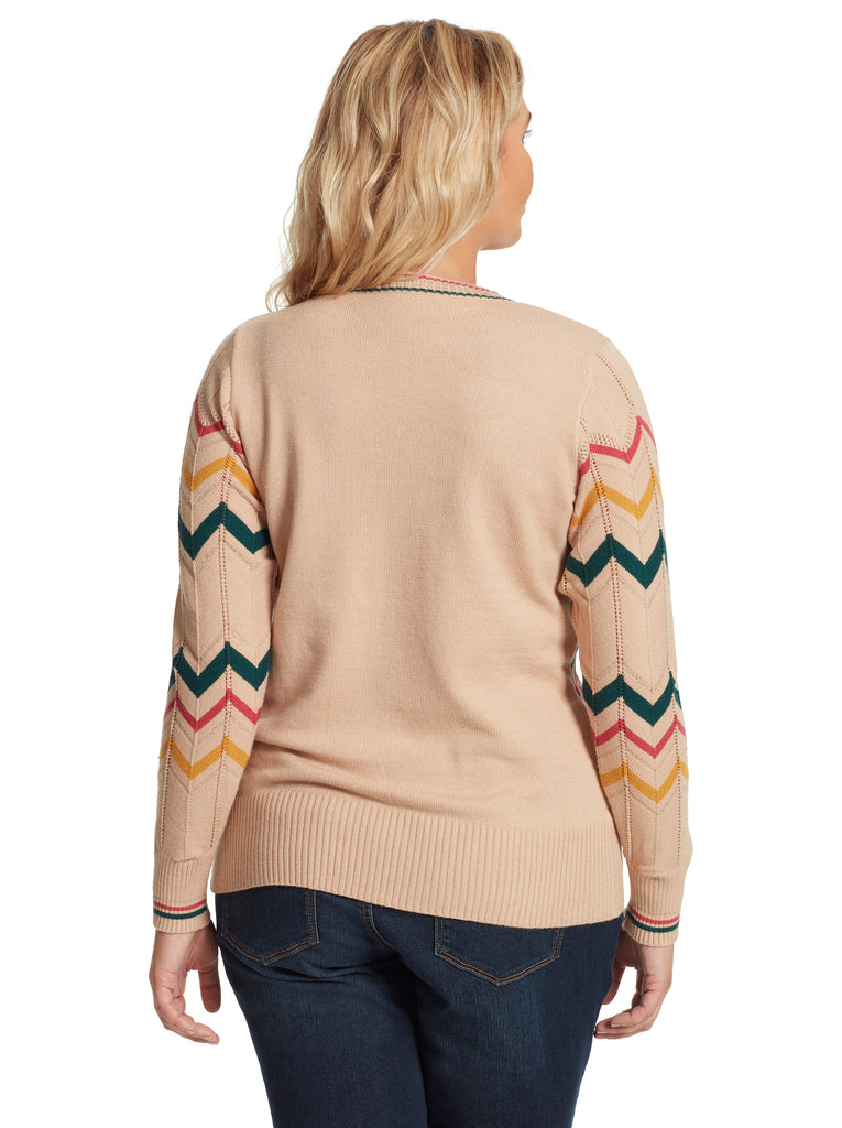 Marcelina Sweater in Oatmeal