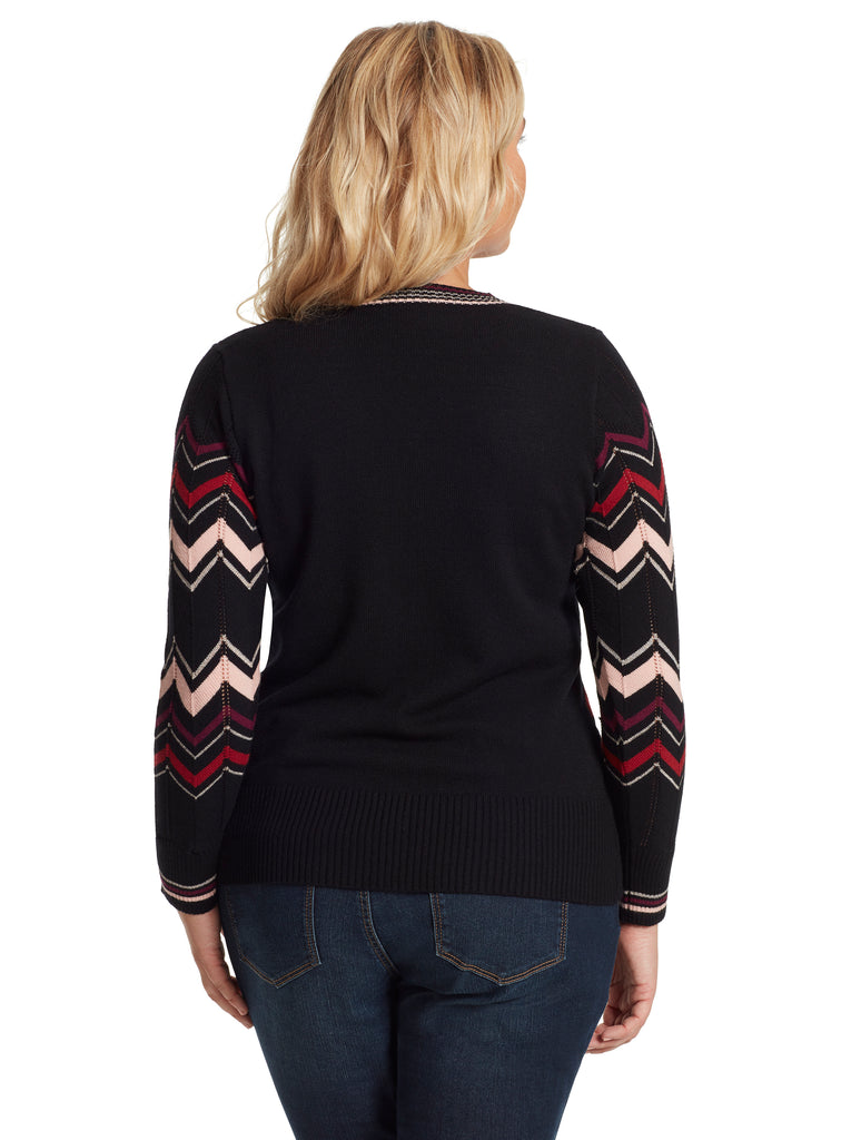 Marcelina Sweater in Black