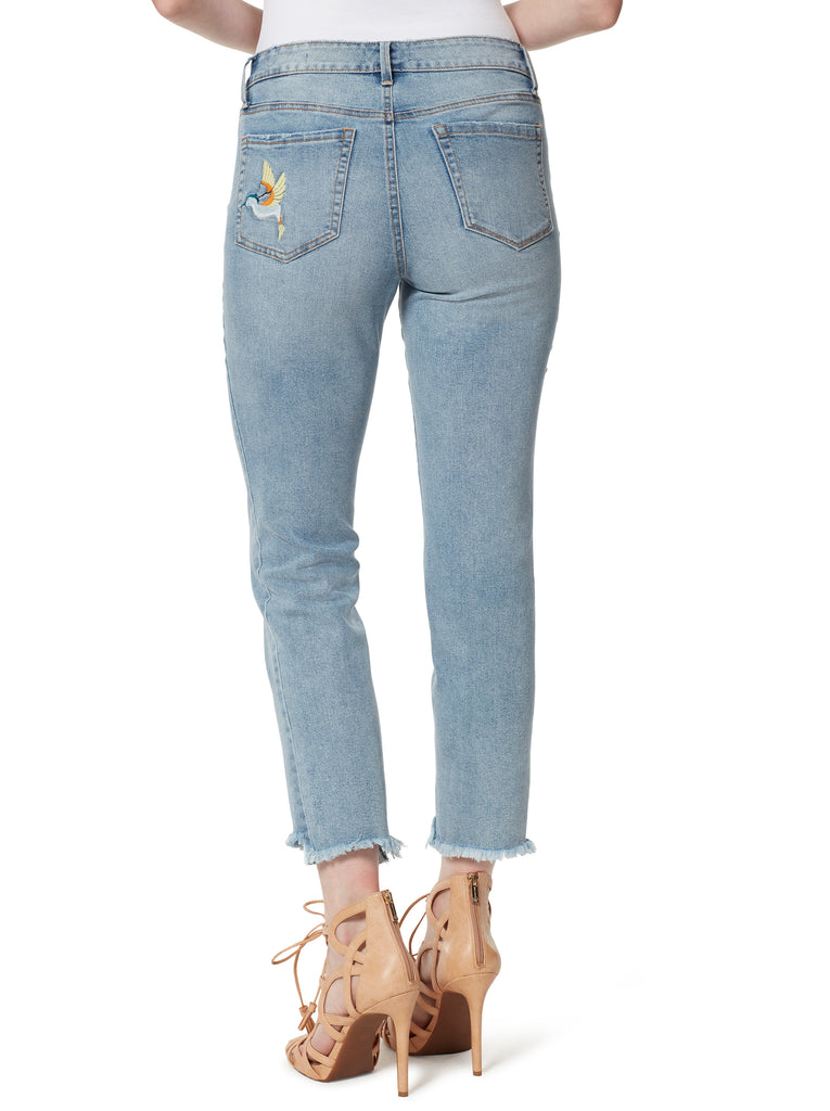 Arrow Straight Ankle Jeans in Back Roads