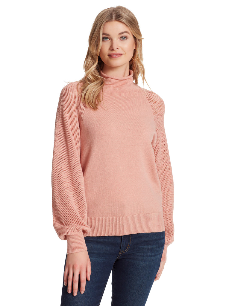 Saskia Sweater in Peach Beige