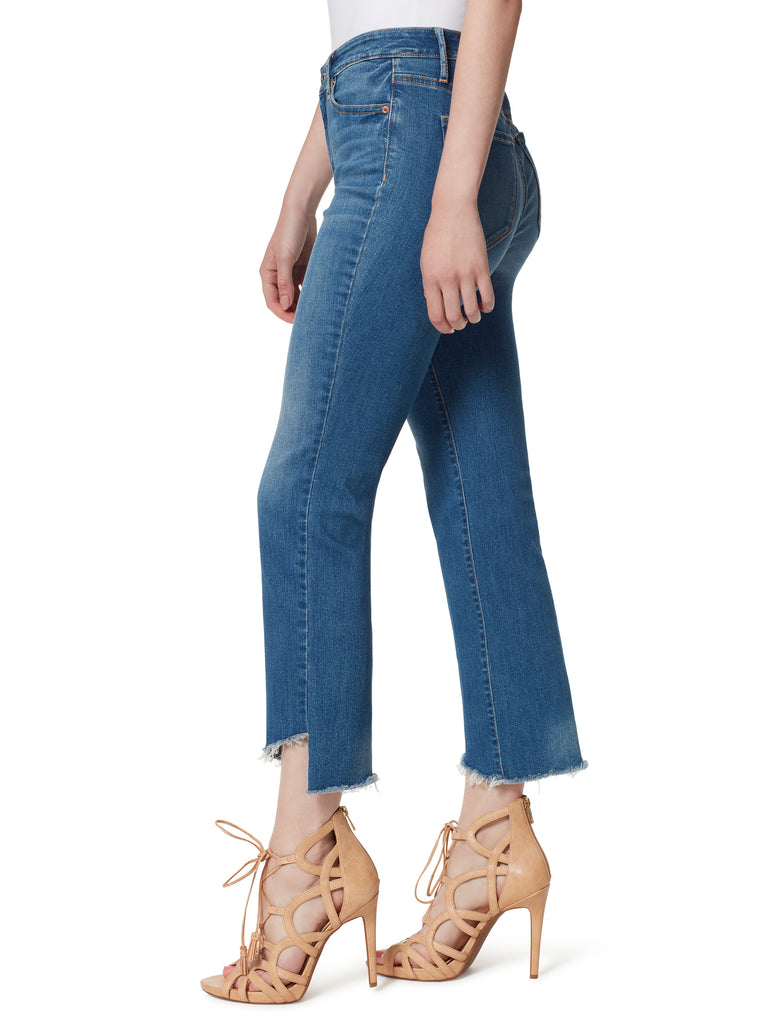 Adored High Rise Kick Flare Jeans in Get On With It