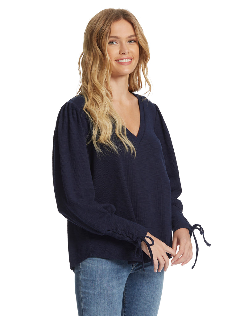 Mercer Top in Maritime Blue