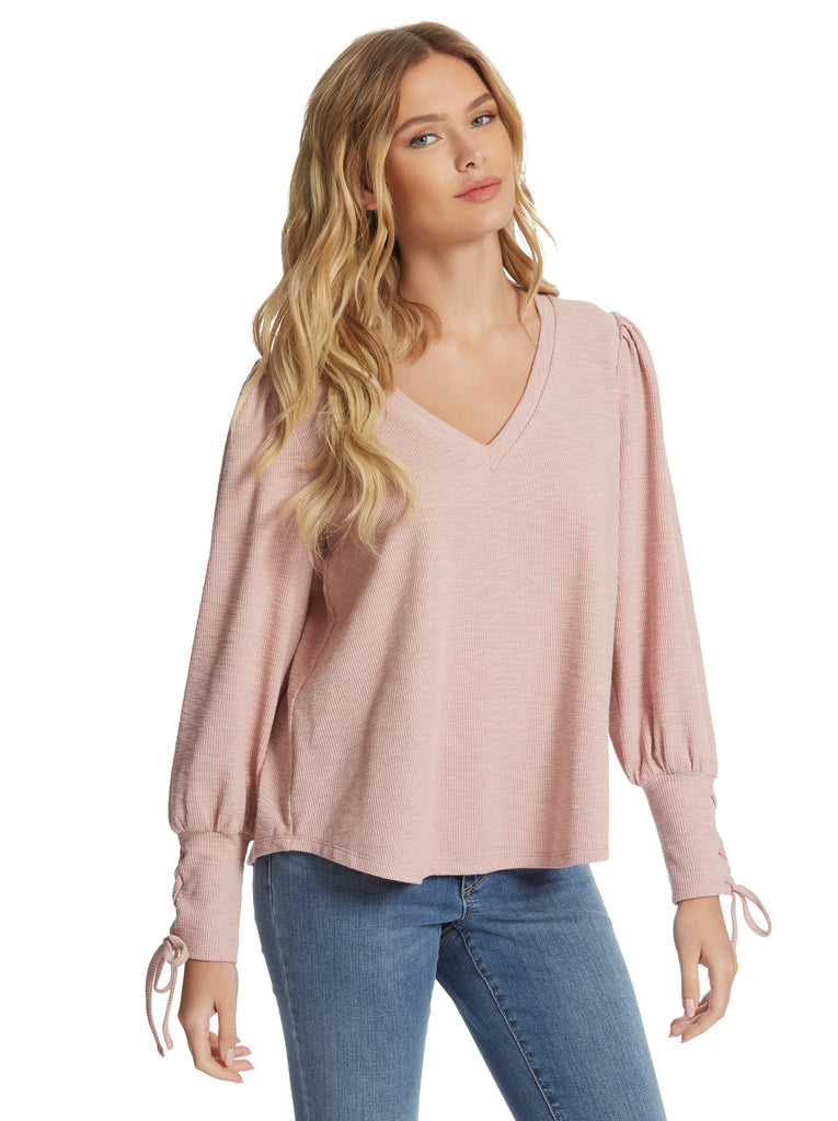 Mercer Top in Peachskin