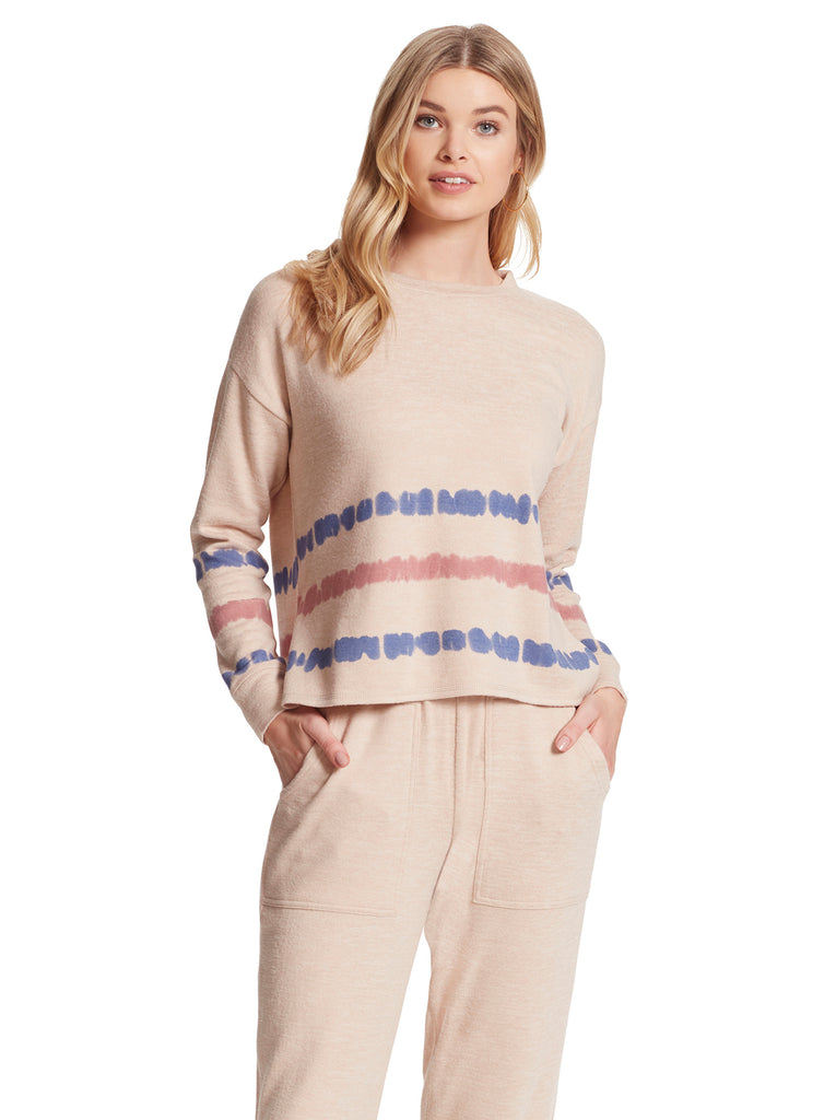 Lisa Pullover in Earth Stripe