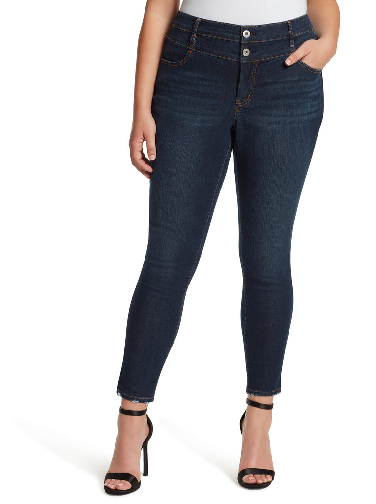 Adored  High Rise Skinny in Axel