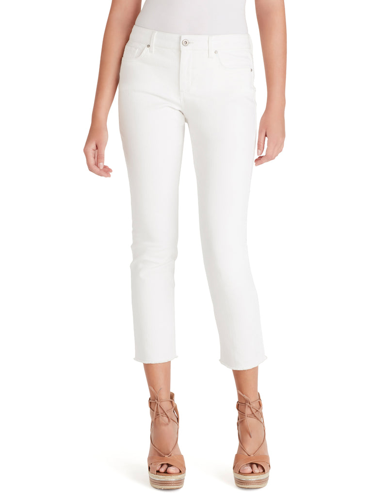 Arrow Straight Ankle Jeans in White