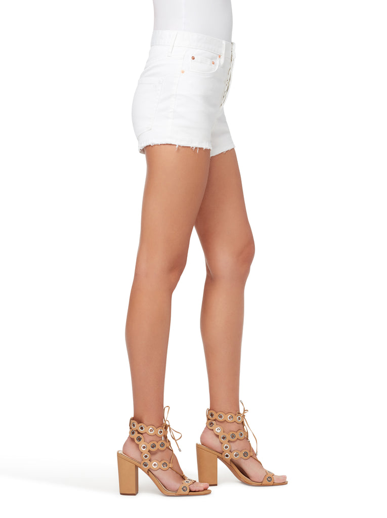 Infinite High Waist Short in White