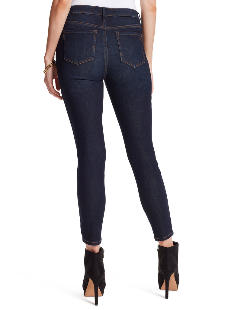 Adored Curvy High Rise Ankle Skinny in Overnight