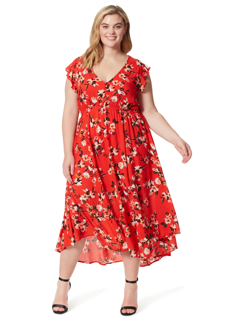 Gabbie Dress in Sporadic Blooms