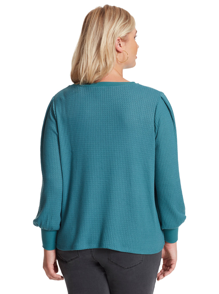 Wilder Top in Colonial Blue