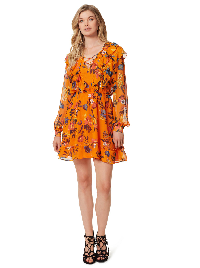 Barry Dress in Sunskissed Floral