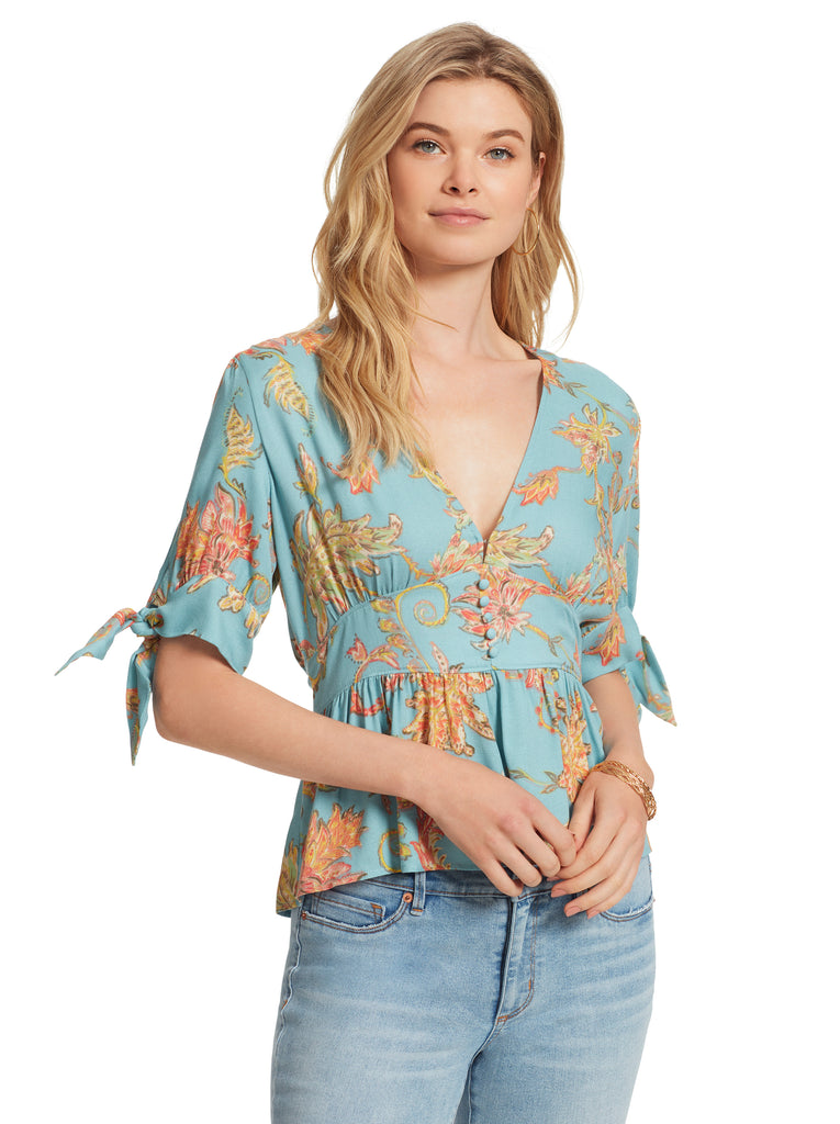 Briana Top in Paisley Grove