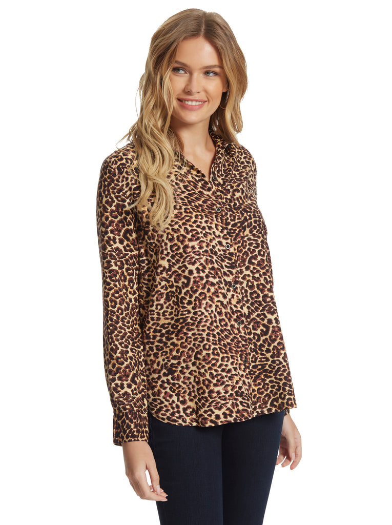 Petunia Shirt in Leopard