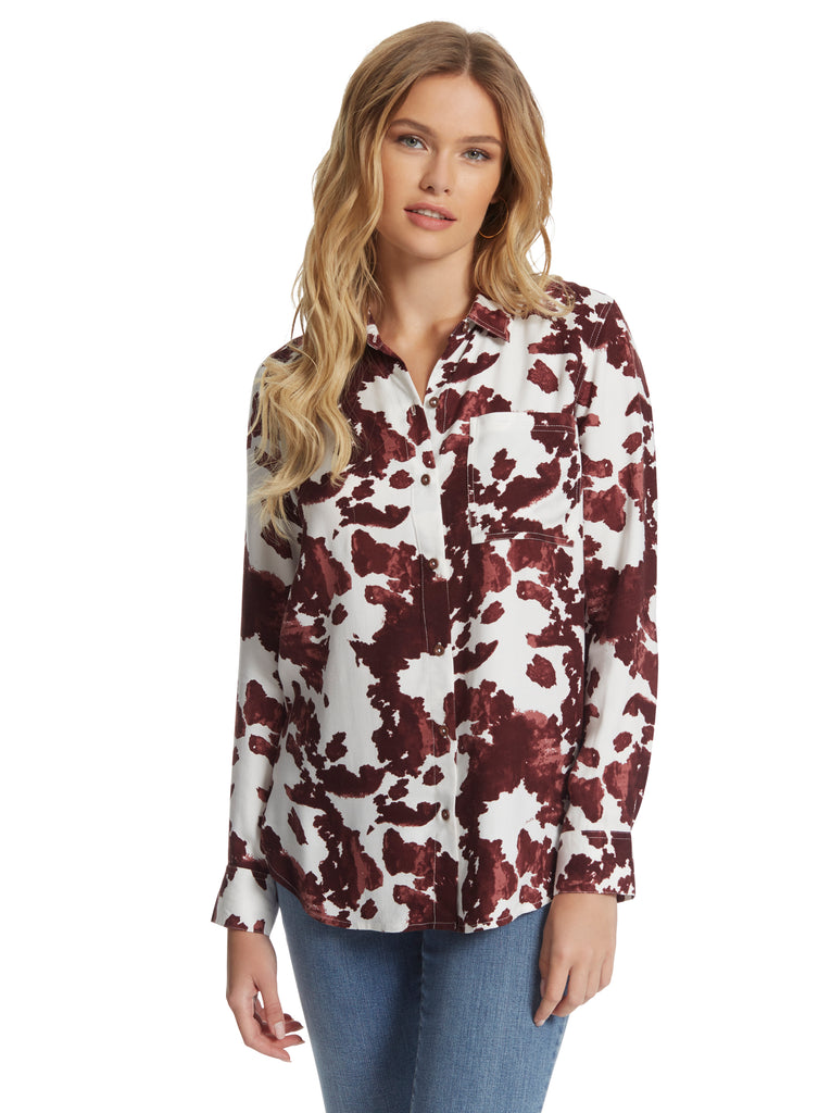 Petunia Button Up Shirt in Rodeo