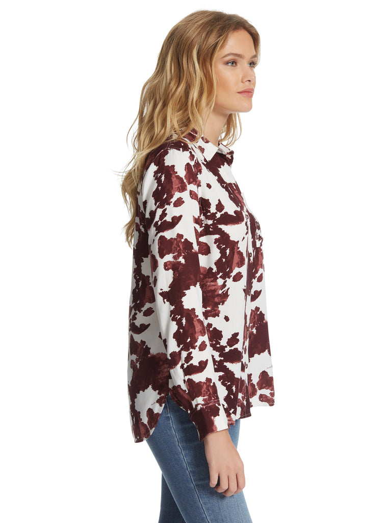 Petunia Shirt in Rodeo