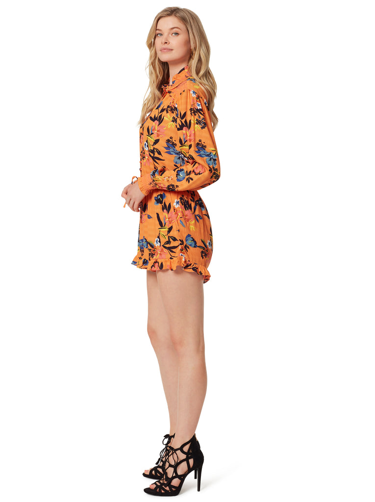 Pauly Romper in Sunkissed Floral
