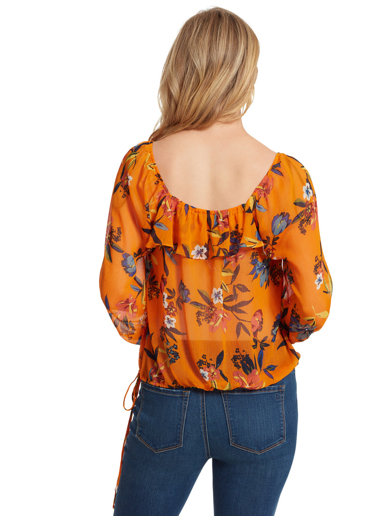 Bailey Blouse in Sunkiss Florals