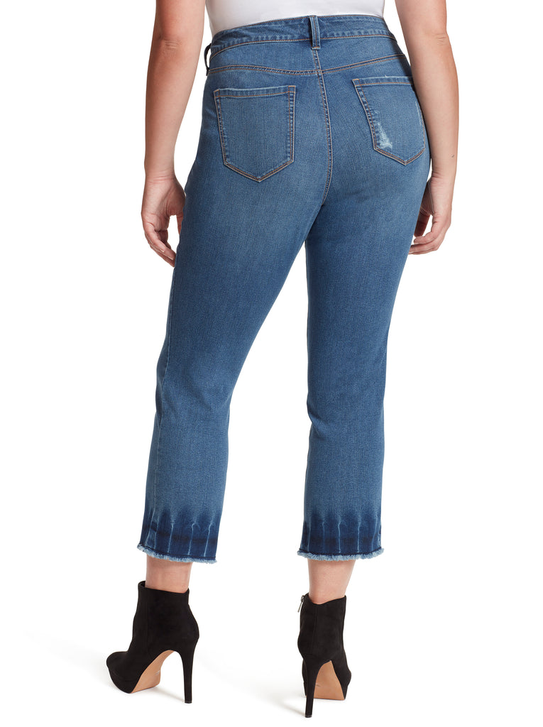 Arrow Straight Ankle Jeans in Fe