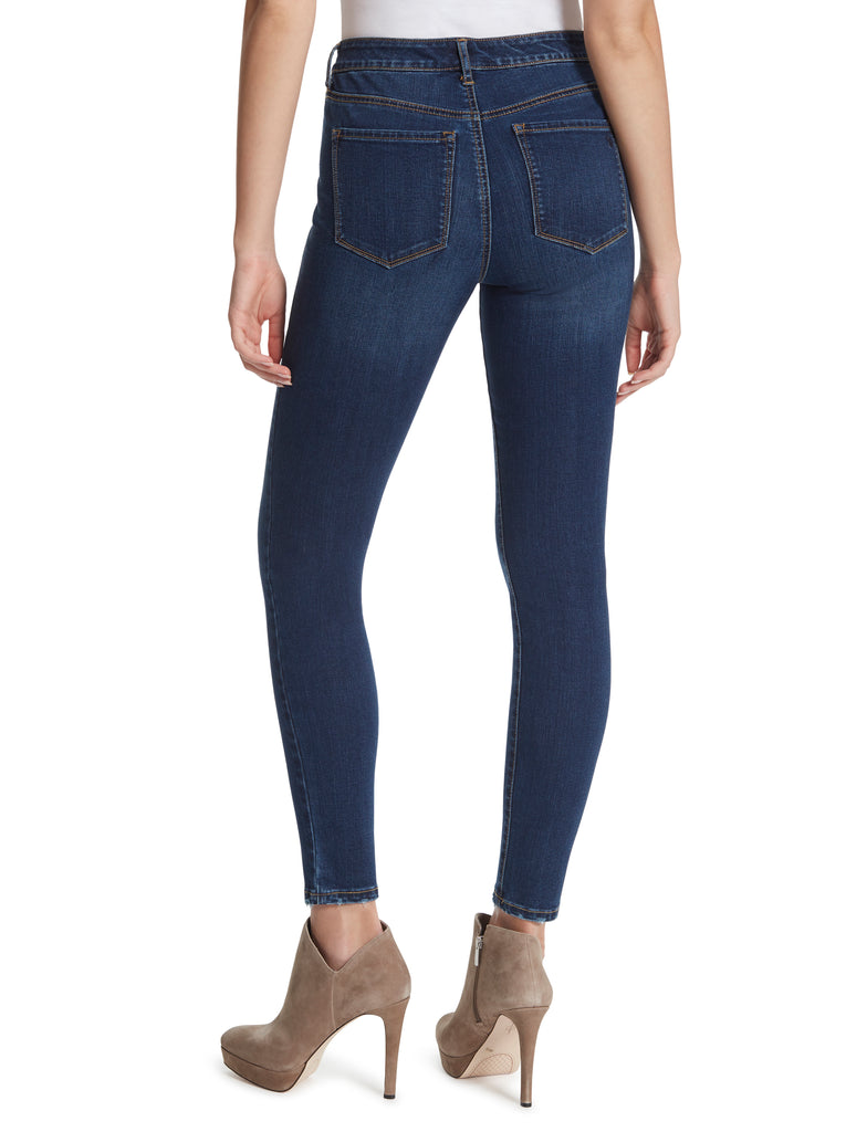 Adored High Rise Ankle Skinny Jeans in Mia