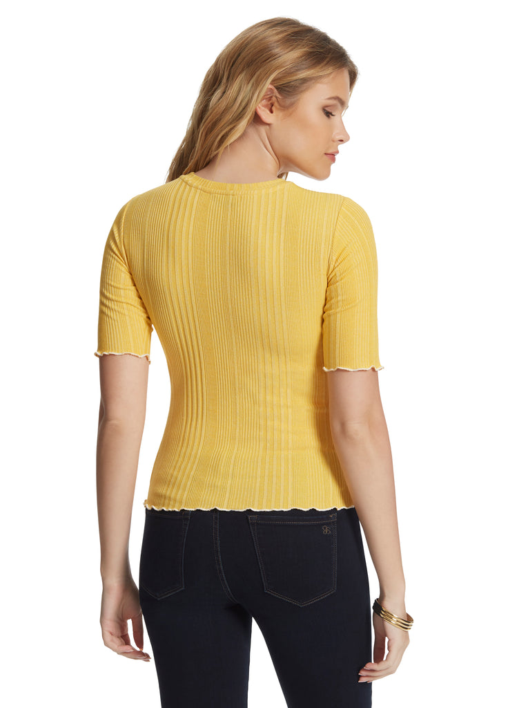 Declyn Top in Golden Rod